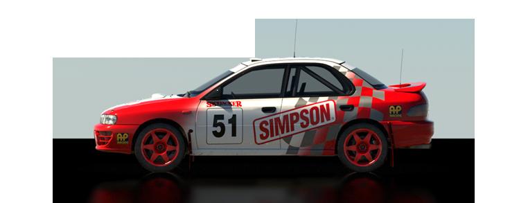 DiRT Rally Subaru Impreza 1995