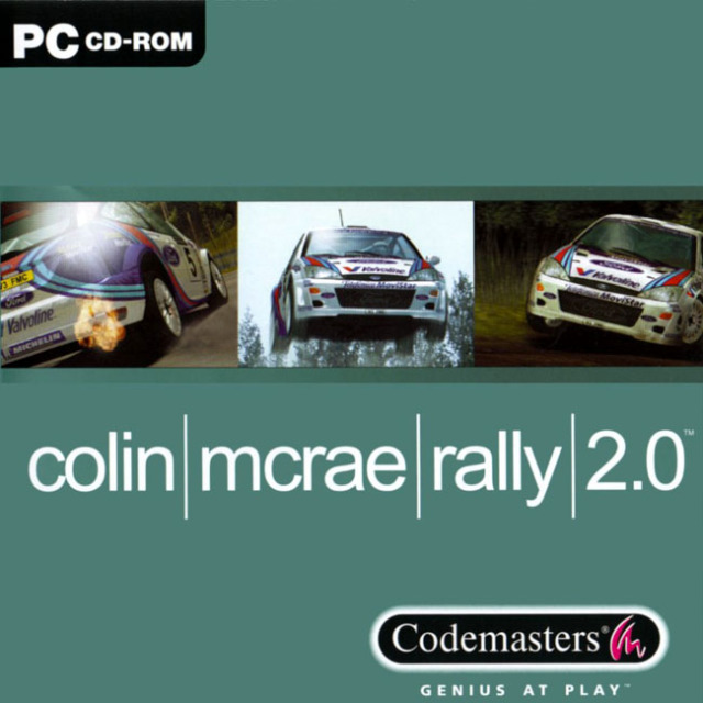 Colin mcrae rally 2-front