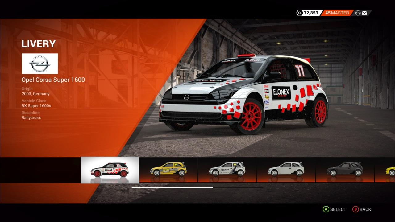 DiRT 4 Opel Corsa Super 1600