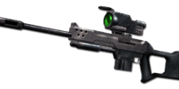 Pierce sniper rifle