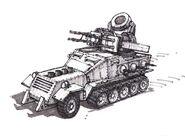 RA2 Flak Cannon concept