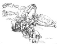 CNCTD Recon bike concept art