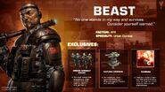 Gen2 Beast Card