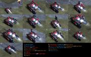 RA3 Hammer Tank Variants
