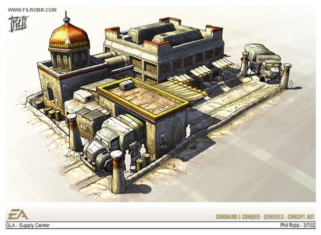 File:GLA Supply Center concept art.jpg