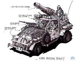 Raiding Buggy concept art