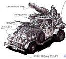 Khan raiding buggy