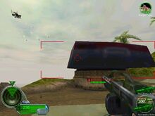 Shore defense cannon