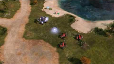 C&C Red Alert 3 Uprising Future Tank X-1 Surveillance Footage