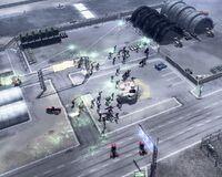 CNCTW Militia Attack Hangars