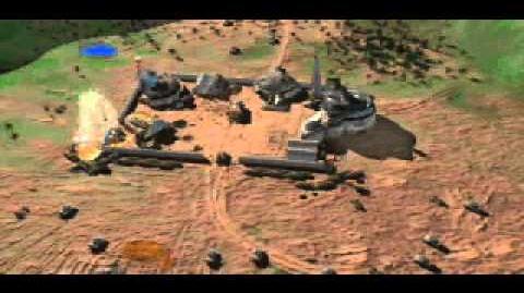 C&C Tiberian Dawn - Siege on Base