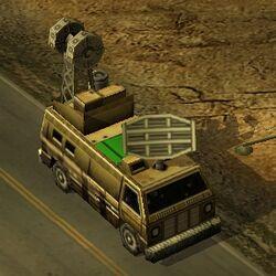 Generals Radar Van