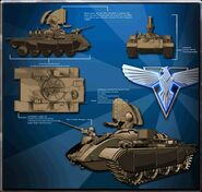 Prism tank Render