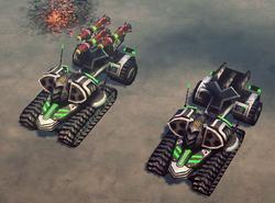 CNC4 Mantis In-game