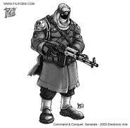 CNCG Rebel concept art by Phil Robb