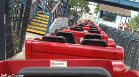 Flying Fish (Thorpe Park) - OnRide