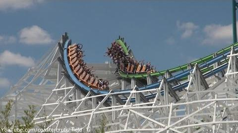 Twisted Colossus (Off-ride HD) Six Flags Magic Mountain
