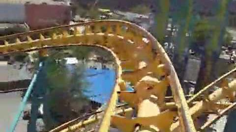 Poltergeist (Six Flags Fiesta Texas) - OnRide - (360p)
