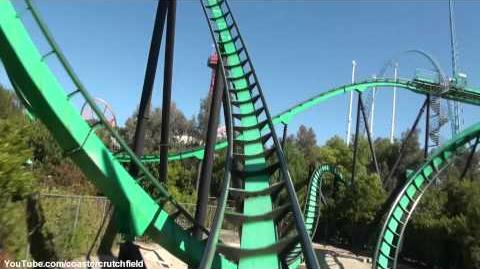 Riddlers Revenge (Six Flags Magic Mountain) - OnRide (1080p)