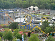 Carolina Cyclone Carowinds Overview