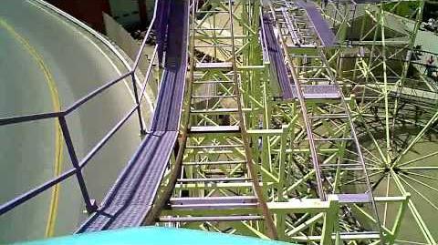 Wild Cat (Cedar Point) - OnRide - (720p)