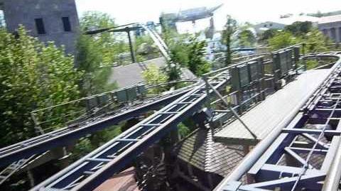 Matterhorn Blitz (Europa Park) - OnRide - (720p)