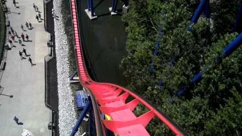 Mantis (Cedar Point) - OnRide - (720p)