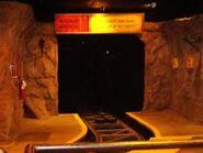 Beginning of runaway mt dark tunnel