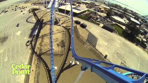 GateKeeper (Cedar Point) - Pre-Opening (1080p) - Left