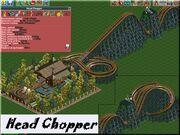 Headchopper on rollercoaster tycoon