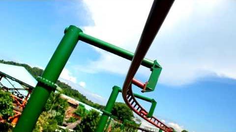 Canopy Flyer (Universal Studio Singapore) - OnRide - (720p)