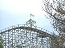 The Predator lift hill top