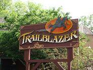 Trailblazer sign