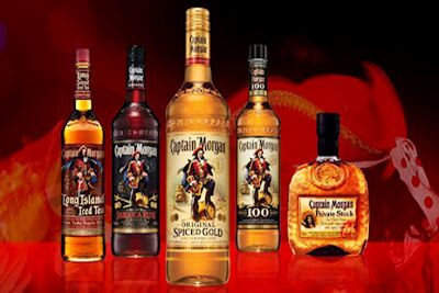 Captain Morgan Varieties