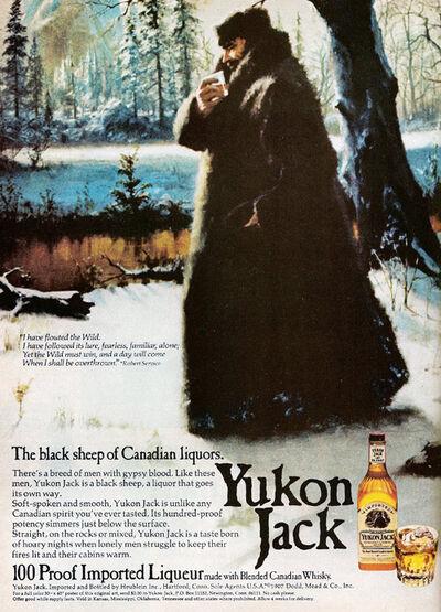 Yukon Jack 1975 advert