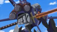 Akatsuki Command Model Zikisan - Radiation Wave Missiles