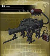 Knightmare Frame - Raikou - A