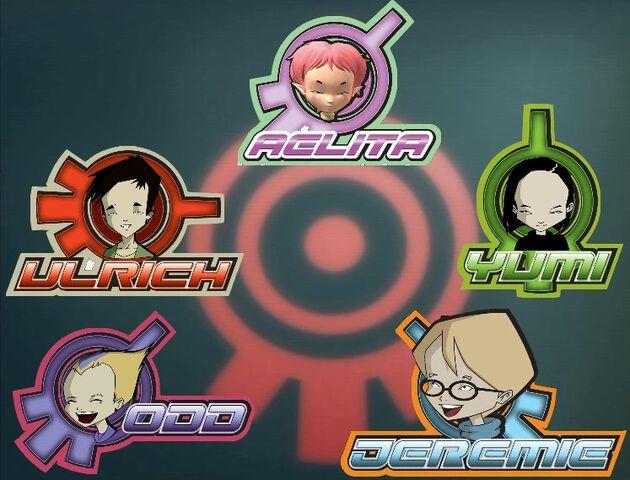 File:Code Lyoko Group and X.A.N.A..jpg