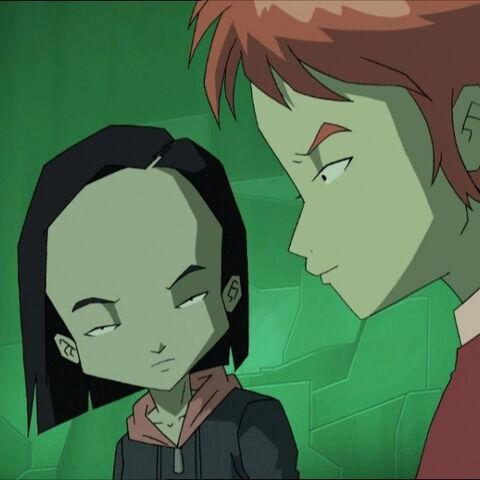 Aelita tells the truth to Yumi.