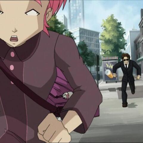 An FBI agent pursues Aelita.