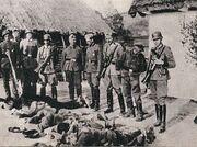 303px-Polish farmers killed by German forces, German-occupied Poland, 1943.jpg