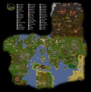 Runescape old map