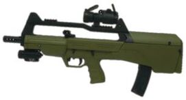 Red dawn weapons Hezi SM-1