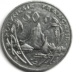 CFP 50 Franc