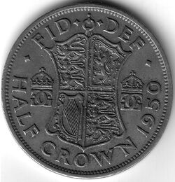 GBP 1950 5 Shilling