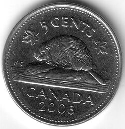 CAN CAD 2006 5 Cent