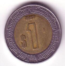 MXN 1997 1 Peso