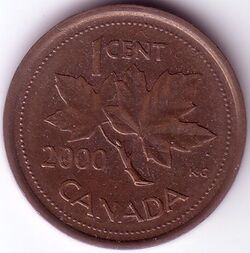 CAN CAD 2000 1 Cent