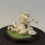 Goblin on dead dwarf 4