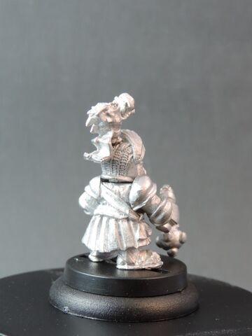File:DEM070 Dwarf Bear Knights Sergeant with morningstar rear.jpg